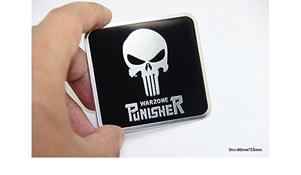 D749 Punisher Warzone Auto Aufkleber 3d Emblem Badge Car Sticker Sensenmann Auto