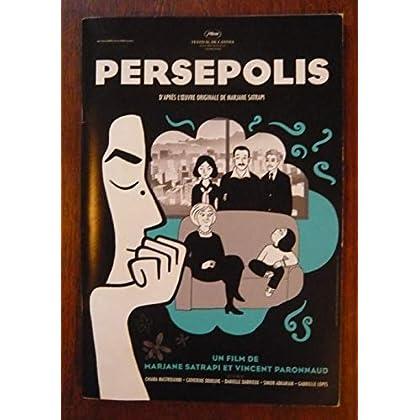 Dossier presse de Persepolis (2017) – 24x16cm, 36 p - Film Marjane Satrapi et V Paronnaud avec voix de Ch Mastroianni, C Deneuve, D Darrieux – 2 dessins Satrapi + entretien + bio – Etat neuf