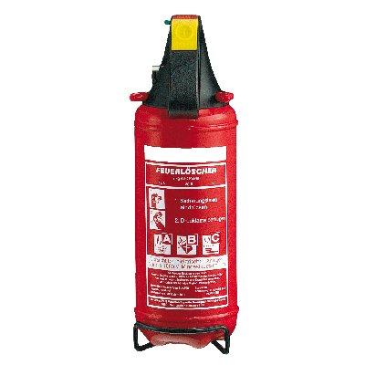 Preisvergleich Produktbild Neuruppin Feuerlöscher - Dauerdruck - Pulverlöscher - Autolöscher - KFZ inkl. Halterung 2 kg PG 2 E