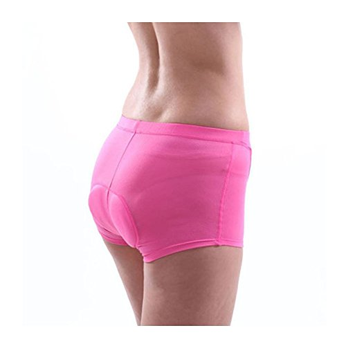 Xcellent Global Latest Women's Cycling Shorts Padded Underwear Coolmax Bicycle Pants (L) M-FS015L