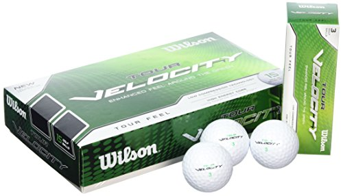 Wilson Golf WGWR60300 Tour Set de 15 balles de golf Blanc