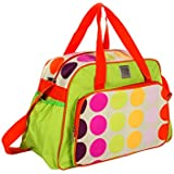 Mee Mee Multipurpose Diaper Bag (With Changing Mat, Multi Green)