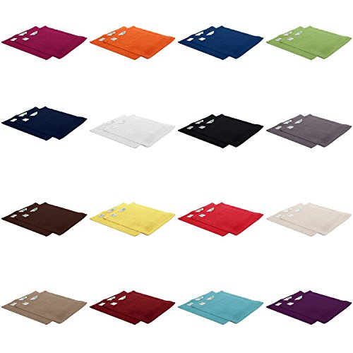 2er Pack zum Sparpreis, Frottier Handtuch-Serie - in 8 Größen und 16 Farben 100% Baumwolle 500 g/m², 2er Pack Seiftücher (30x30 cm) in Apfelgrün
