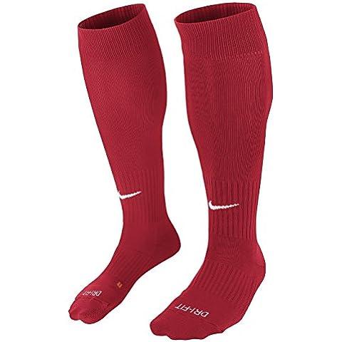 Nike Classic II Sock - Calcetines unisex, color rojo / blanco, talla L