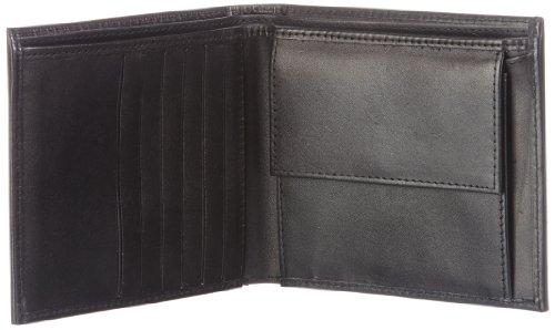 Bodenschatz Novara 8-497 NA 01, Herren Geldbörsen 13x10x3 cm (B x H x T) Schwarz (Black)