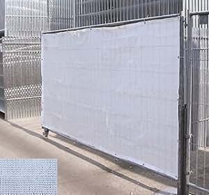 Bauzaunnetz Bauzaun Sichtschutznetz für Bauzaun 3,50m x 2,0m weiß