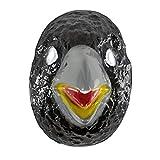 NET TOYS Rabenmaske Rasputin für Jungen & Mädchen | Schwarz-Graue Kindermaske | Originelle Kinder-Maskerade Vogelmaske Rabe | Perfekt geeignet für Fasching & Karneval