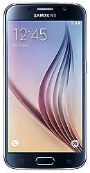 Samsung Galaxy S6 Smartphone (5,1 Zoll (12,9 cm) Touch-Display, 32 GB Speicher, Android 5.0) schwarz (Nur für Europäische SIM-Karte)