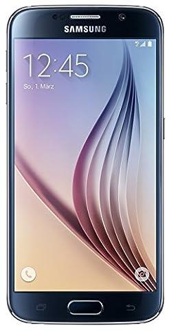 Samsung Galaxy S6 Smartphone (5,1 Zoll (12,9 cm) Touch-Display, 32 GB Speicher, Android 5.0) schwarz (Nur für Europäische
