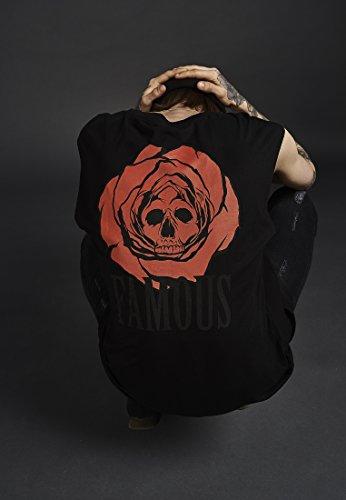 1278b930c205 Famous Stars and Straps Dead Rose – Camiseta de Tirantes sin Mangas ...
