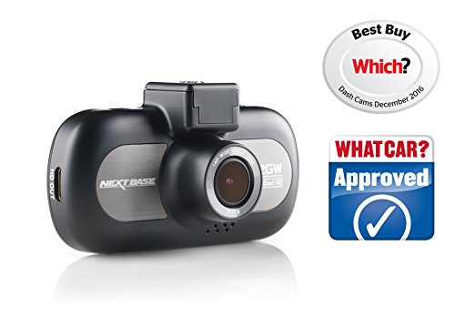 Nextbase 412GW 1440p QUAD HD In-Car Dash Camera Digital Driving Video Recorder with Wi-Fi - Black