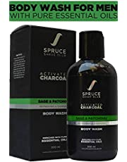 Charcoal Body Wash For Men