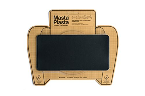 MastaPlasta Black Self-Adhesive Leather