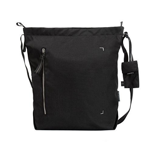 "Crumpler Doozie Photo Shoulder M Dzps-M-007 Photo Sling Bag With 13"" Laptop Compartment And Removable Camera Pouch Black / Metallic Silver"