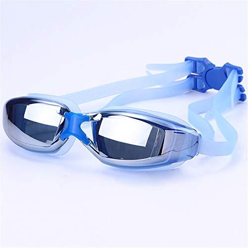 luoshui Wasserdichte Swim Glasses Eyewear Professional Electroplate Myopia Marke Erwachsene Männer Frauen Anti-Nebel UV-Schutz Schwimmbrillen
