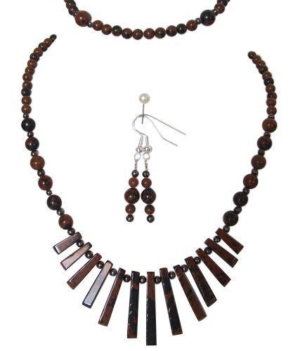 m-allen-ensemble-gemme-obsidienne-acajou-collier-bracelet-et-boucles-doreilles