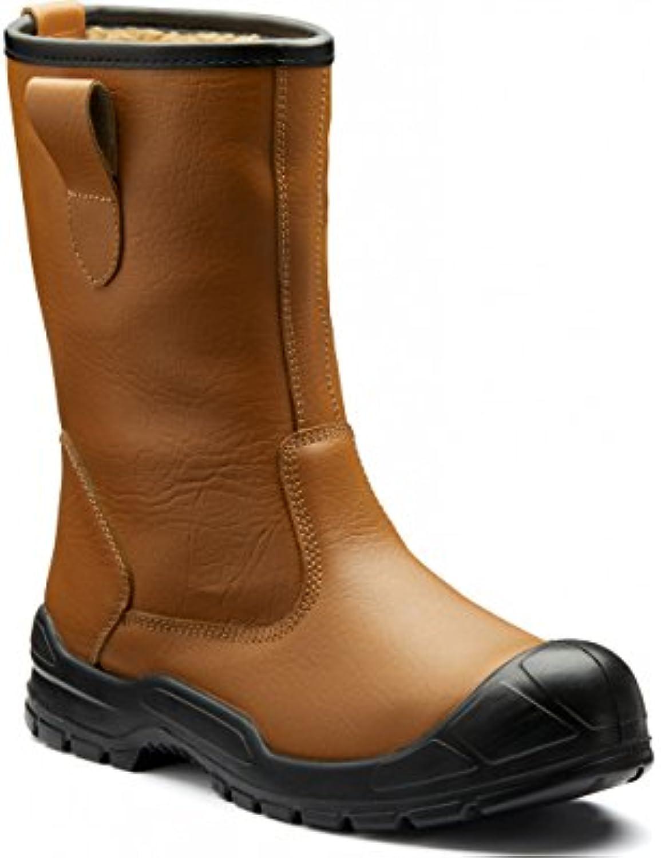 Dickies FA23350S-6 Dixon - Botas de arranque con forro, talla 6, color marrón