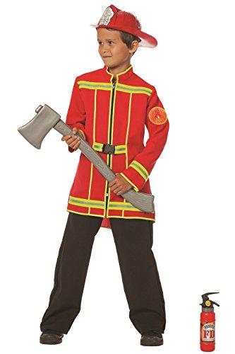 feuerwehrjacke kinder Feuerwehrmann Jacke Feuerwehr 116, 128, 140, 152, 164 (164)