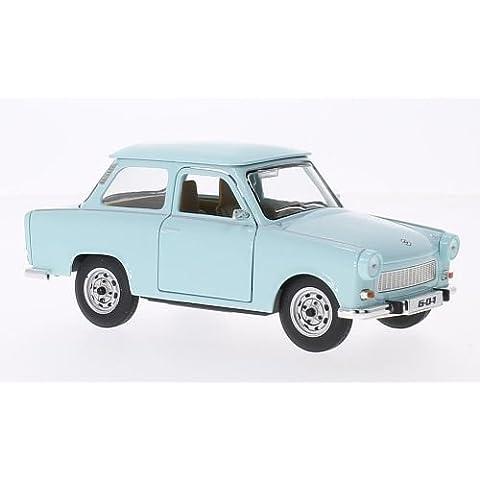 Trabant 601, azul claro, Modelo de Auto, modello completo, Lucky El Cast 1:24