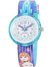 FlikFlak Mädchen Analog Quarz Uhr mit Stoff Armband FLNP027