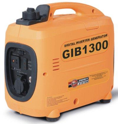 Gruppo elettrogeno generatore di corrente portatile silenziato inverter mod. gib1300