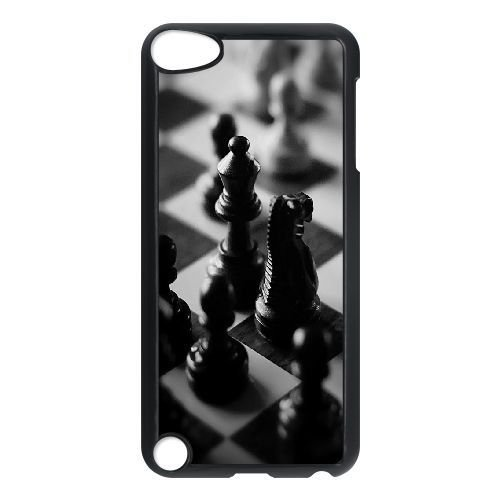 Durable Rubber Cases Ipod Touch 5 Cell Phone Case Black Black And White Chess Board Fwmew Protection Cover