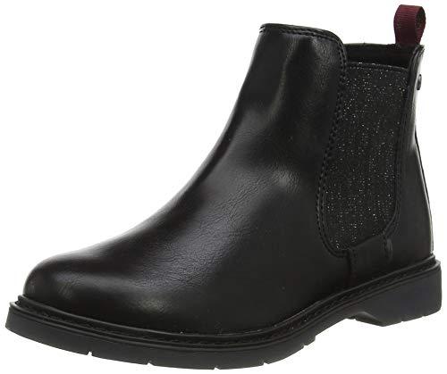 s.Oliver Mädchen 5-5-45402-33 Chelsea Boots, Schwarz (Black 001), 36 EU