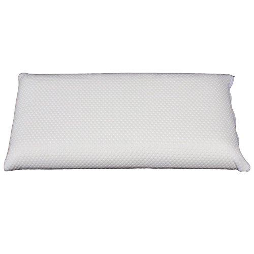 sabeatex Aktion schlaf dich fit Nackenstützkissen inkl. Bezug, weiß, 68 x 35 x 13 cm
