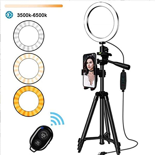 Qiopes Practical USB Interface Brightness Adjustable Fill Light Beauty Lamp Soft Boxes