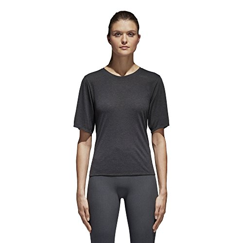 adidas CV5109 T-Shirt Femme, Noir, FR (Taille Fabricant...