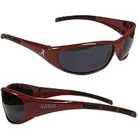 Purchadise NCAA 3-Dot Wrap Sunglasses-UVA and UVB Protection-Many Teams! (Alabama Crimson Tide)