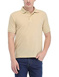 Trendy Trotters Cream Polo Cotton T-Shirt