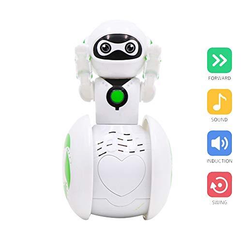 AimdonR Induktion Intelligente Musikroboter, Elektronische Spielzeug Tumbler Toy Roboter Cartoon Baby Spielzeug
