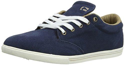 Globe Lighthouse-Slim Unisex-Erwachsene Sneakers Blau (navy/tan 13185)