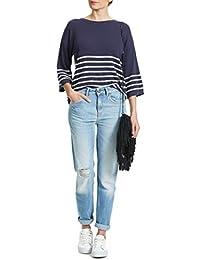 Jeans Pepe Jeans Freya Boyfriend Bleu Clair Destroy Femme