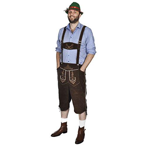 VidaXL Disfraz Oktoberfest Pantalones Talla