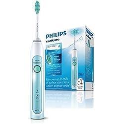 Philips Sonicare HX6711/02 HealthyWhite Spazzolino Elettrico con Tecnologia Sonicare, Confezione Singola