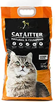 HUFT Cat Litter Natural & Clumping - Lavender Scented - 1