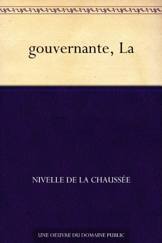 Couverture du livre gouvernante, La