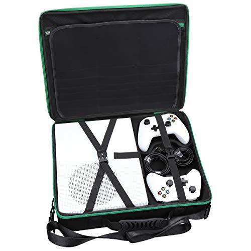 Aproca Hart Schutz Hülle Reise Tragen Etui Tasche für Xbox One S 1TB KonsoleStandard