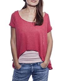 Ella Manue Frauen Babydoll Shirt Fleur