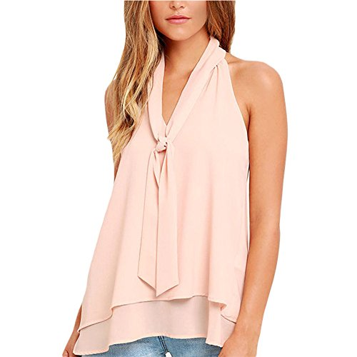 meinice-doble-cascada-volantes-cuello-corbata-sin-mangas-top-rosa-rosa-small