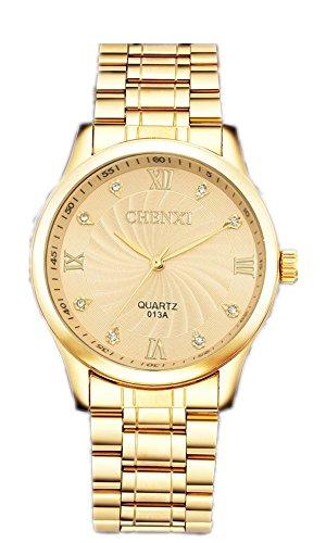 Armbanduhren Wrist Watches Quartz Chenxi wasserdicht Retro Mode schöne Uhren Herren Men