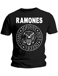 Camiseta Ramones Seal (Negro)