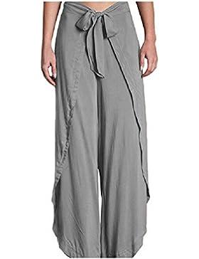 SYGoodBUY Pantalones de Verano de la Caída del Resorte de Las Mujeres del Verano Pantalones de Yoga Pantalones...