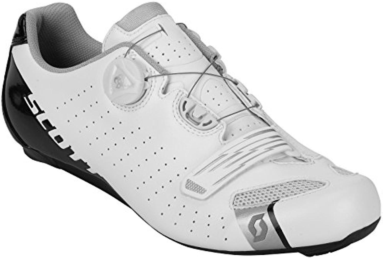 Scott Road Comp Boa Guantes Bicicleta de carreras color blanco/negro 2018, 44  -