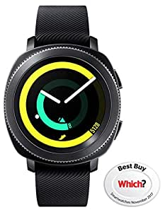 Samsung Gear Sport Smartwatch (UK Version) - Black