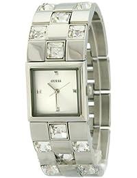 Guess–W11177L1Damen-Armbanduhr 045J699Analog silber Armband Stahl Silber