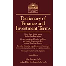 Dictionary of Finance and Investment Terms (Barron's Business Dictionaries) (Barron's Business Guides)