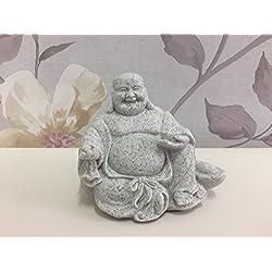 Diseño efecto piedra tamaño pequeño granito figura de Buda